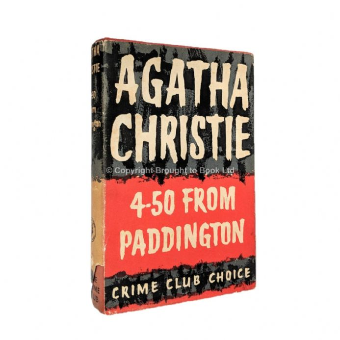 4-50 From Paddington by Agatha Christie First Edition The Crime Club by Collins 1957